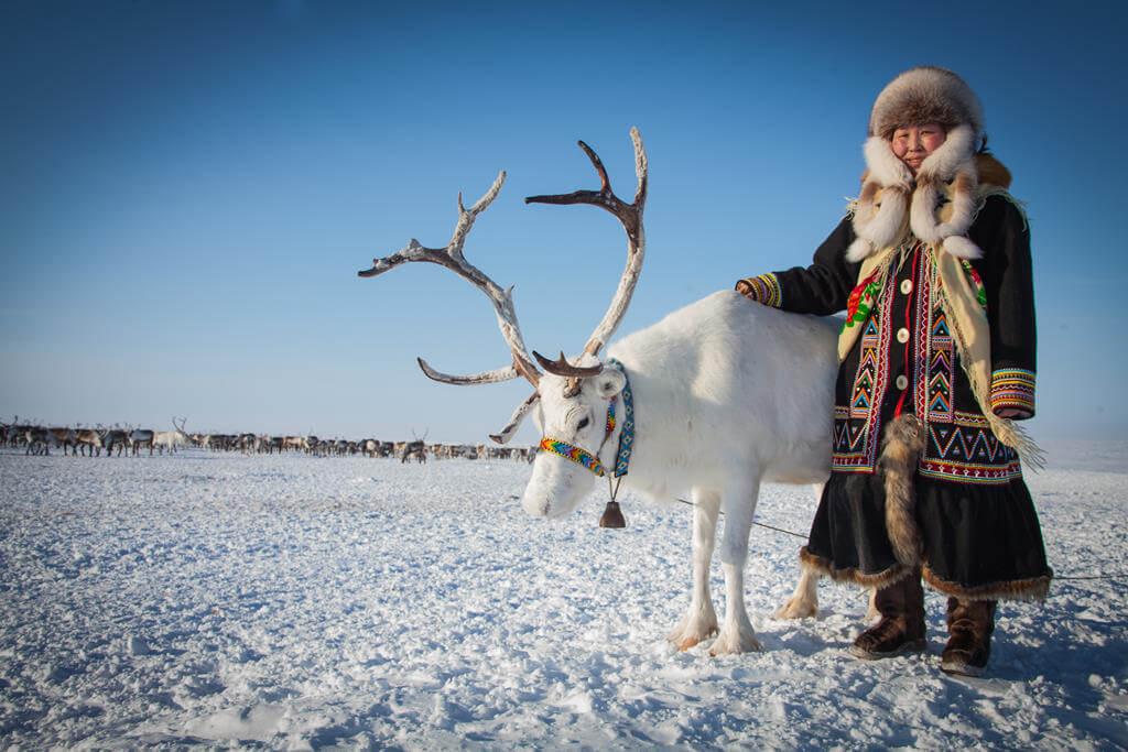 Житель Якутии