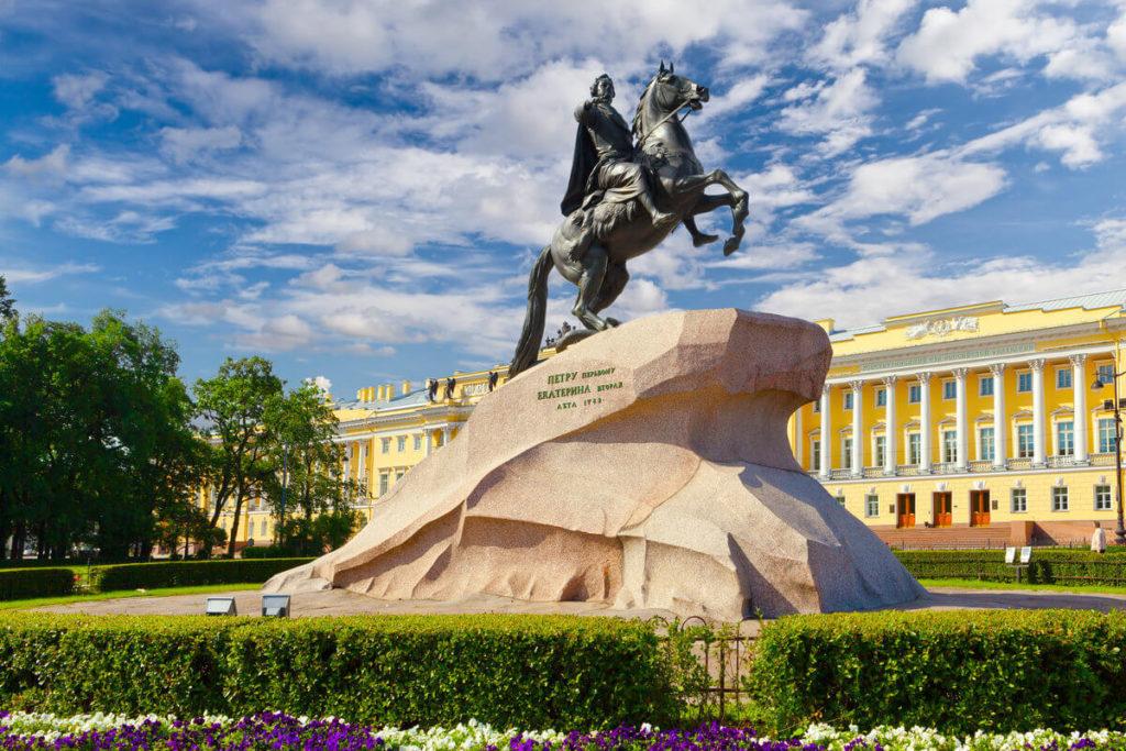 Памятник медный всадник