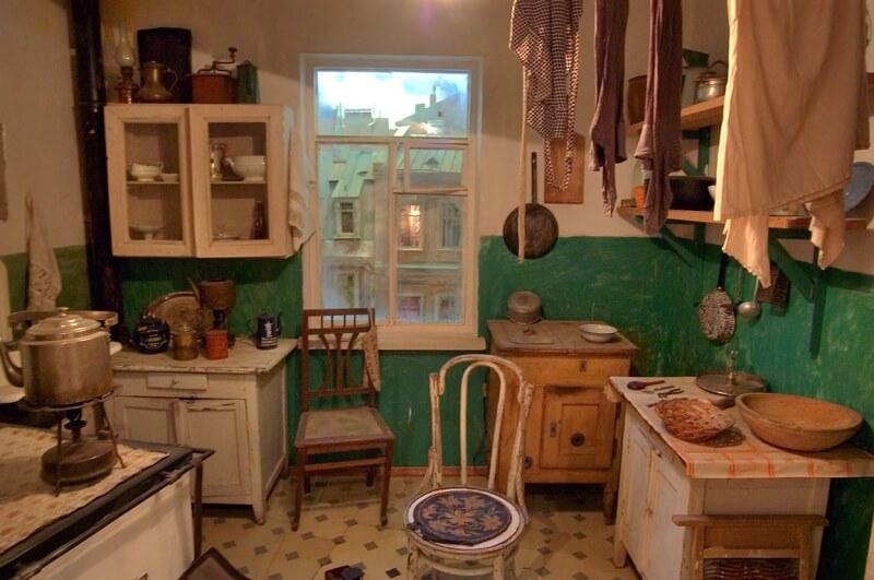 Интерьер кухни в СССР