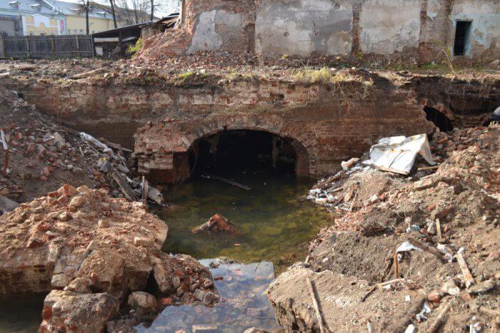 Подземелья города Ярославль