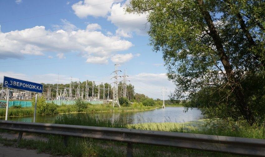Река Звероножка в Московской области