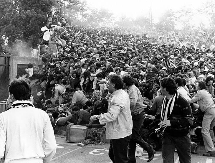 Трагедия на матче в 1985 году